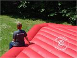 Bouncy cushion 7x7 m, Red, rental quality - 4