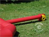 Bouncy cushion 7x7 m, Red, rental quality - 5
