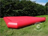 Jumping pillow 9x9 m, Red, rental quality, ONLY 1 PC. LEFT - 1