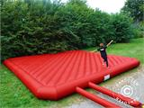 Jumping pillow 9x9 m, Red, rental quality, ONLY 1 PC. LEFT - 2