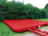 Jumping pillow 9x9 m, Red, rental quality, ONLY 1 PC. LEFT - 3