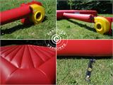 Jumping pillow 9x9 m, Red, rental quality, ONLY 1 PC. LEFT - 18