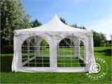 Marquee Pagoda 4x4 m, White - 1