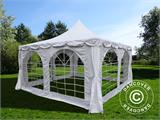 Marquee Pagoda 4x4 m, White - 2
