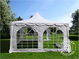 Marquee Pagoda 4x4 m, White - 4