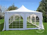 Marquee Pagoda 4x8 m, White - 1