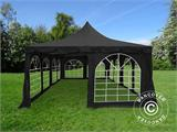 Partytelt Pagoda 4x8m, Sort - 3