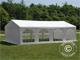 Solution SmartPack 2 en 1: Tente de réception Original 4x8m, Blanc/tonnelle 4x4m, sable - 2