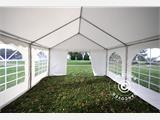 Solution SmartPack 2 en 1: Tente de réception Original 4x8m, Blanc/tonnelle 4x4m, sable - 4