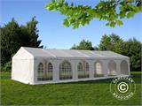 Solution SmartPack 2 en 1: Tente de réception Exclusive 6x12m, Blanc/tonnelle 4x4m, sable - 3