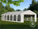 Solution SmartPack 2 en 1: Tente de réception Exclusive 6x12m, Blanc/tonnelle 4x4m, sable - 4