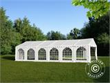 Solution SmartPack 2 en 1: Tente de réception Exclusive 6x12m, Blanc/tonnelle 4x4m, sable - 5