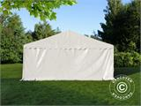 Solution SmartPack 2 en 1: Tente de réception Exclusive 6x12m, Blanc/tonnelle 4x4m, sable - 6
