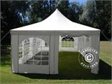 Marquee Pagoda 4x8m, Off-White - 1