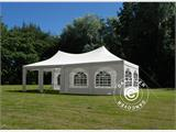 Marquee Pagoda 4x8m, Off-White - 3