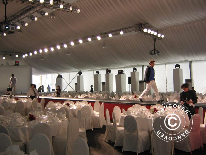 Partyzelt Professional EventZone 20x20m PVC. Partyzelt PVC kaufen ...