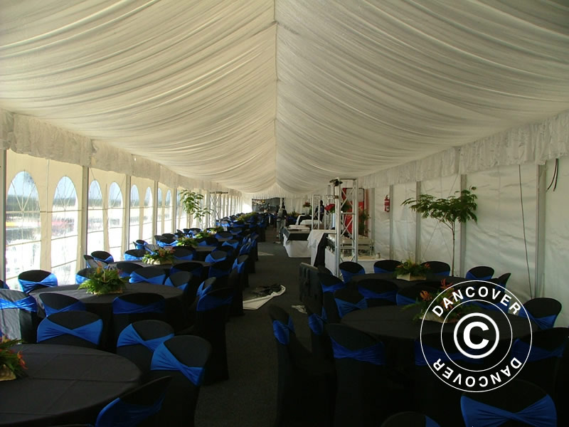 Professional Marquee Eventzone 9x18 M Pvc Marquee For