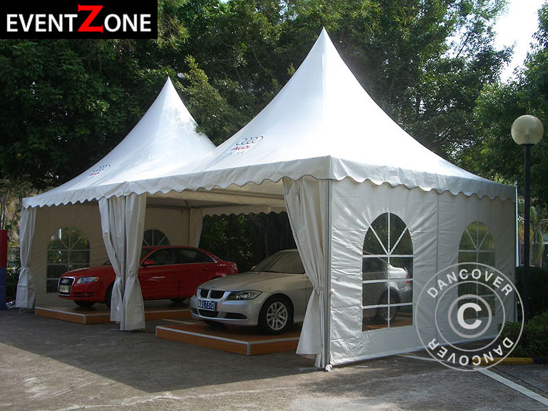 Pagoda Tent Eventzone Pro 5x5 M Pvc Pagoda Marquee For