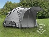 Base Camp/Flyktingtält, Tents4Life, 10 personer, Silver - 1
