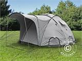 Base Camp/Flyktingtält, Tents4Life, 10 personer, Silver - 4
