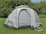 Base Camp/Flyktingtält, Tents4Life, 10 personer, Silver - 6