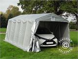 Portable Garage PRO 3.3x6x2.4 m PE, Grey - 1