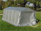Portable Garage PRO 3.3x6x2.4 m PE, Grey - 7