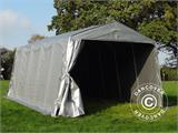 Portable Garage PRO 3.3x6x2.4 m PE, Grey - 8