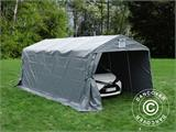 Portable Garage PRO 3.3x6x2.4 m PVC, Grey - 4