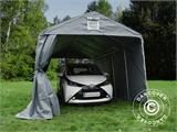 Portable Garage PRO 3.3x6x2.4 m PVC, Grey - 5
