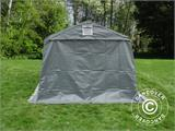 Portable Garage PRO 3.3x6x2.4 m PVC, Grey - 7