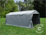 Portable Garage PRO 3.3x6x2.4 m PVC, Grey - 8