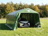 Portable Garage PRO 3.6x7.2x2.68 m, PVC, Green - 2