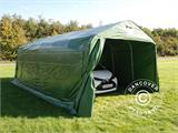 Portable Garage PRO 3.6x7.2x2.68 m, PVC, Green - 3