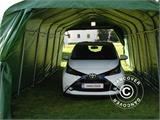 Portable Garage PRO 3.6x7.2x2.68 m, PVC, Green - 5