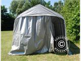 Portable Garage PRO 3.77x7.3x3.18 m PVC, Grey - 3