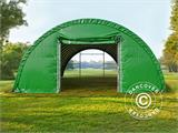 Arched Storage tent 9.15x12x4.5 m, PVC, Green - 2