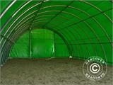 Arched Storage tent 9.15x12x4.5 m, PVC, Green - 8