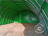 Arched Storage tent 9.15x12x4.5 m, PVC, Green - 10