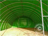Arched Storage tent 9.15x12x4.5 m, PVC, Green - 11