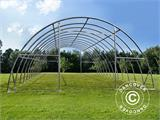 Arched Storage tent 9.15x12x4.5 m, PVC Green - 6