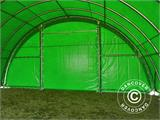 Arched Storage tent 9.15x12x4.5 m, PVC Green - 16
