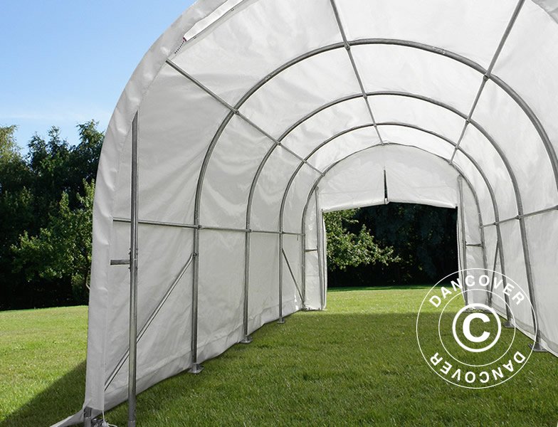 Tunnel agricole 4x8x3 8m pe dancovershop fr for Tunnel agricole prix