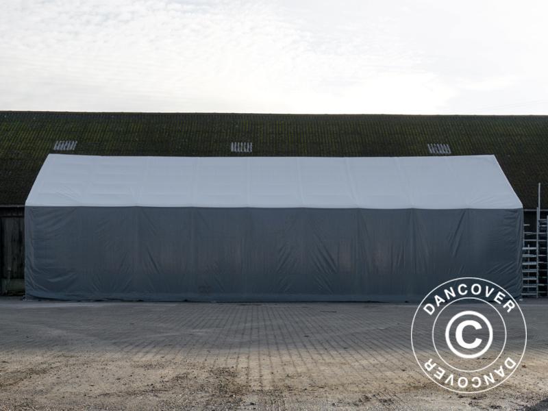 Tälthall Titanium 8x16,2x3x5m. Tälthall Titanium VitGrå