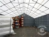 Storage shelter Titanium 8x16.2x3x5 m, White/Grey - 5
