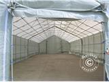 Storage shelter Titanium 8x16.2x3x5 m, White/Grey - 21