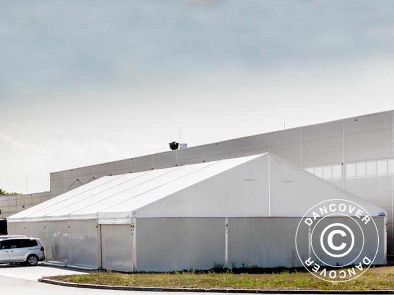 hangar de stockage industriel 20x30x8 04m avec porte. Black Bedroom Furniture Sets. Home Design Ideas