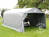 Portable Garage PRO 3.6x6x2.68 m PVC, Grey - 1