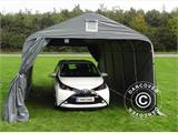 Portable Garage PRO 3.6x6x2.68 m PVC, Grey - 6