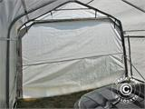 Portable Garage PRO 3.6x7.2x2.68 m PE, Grey - 10